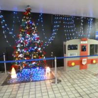 大阪市営中央線のイルミネーション