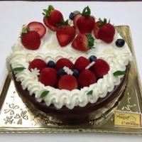 ケーキのハーフ&ハーフ