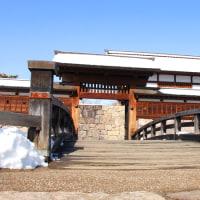 真田十万石の城下町……松代城の雪景色!(1)