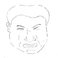 10月26日のチョコット似顔絵