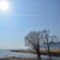 ちょっと前の琵琶湖