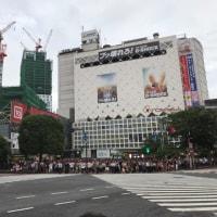 東京で、人に酔う