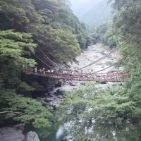 """平家一族の哀話を秘める、秘境""""祖谷""""にあるかずら橋"""