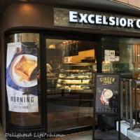 バスツアーの朝食はサンドイッチで@エクセルシオール