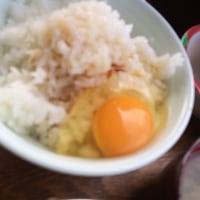 たまごかけご飯と芋ほり by おとん