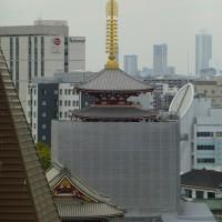浅草寺五重塔「二層目」