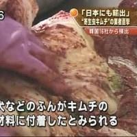 韓国産キムチは危険
