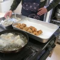 今年度最後の料理教室に行きました。
