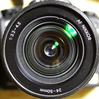 太めで地味なレンズ ~AF NIKKOR 24-50mmF3.3-4.5