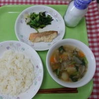 5月19日の給食 食育の日献立