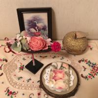 薔薇のデコパージュ