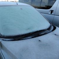 01月16日 氷づけの車