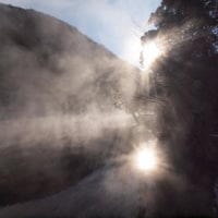 由布院温泉 素晴らしき金鱗湖の朝