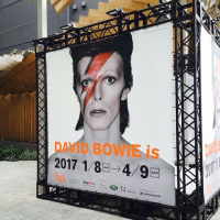 DAVID BOWIE isへ行ってきました