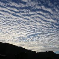 大塚山と「うろこ雲」