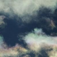 日曜日の飛行機雲とか