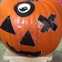 ジャンボかぼちゃの重さ発表ー。