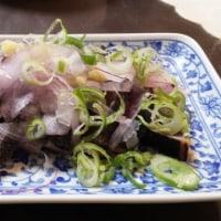 6/25の夕飯(鶏団子スープと鰹のたたき)