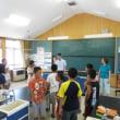 7月19日(水)J先生との最後の外国語活動
