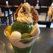 祇園・京煎堂の抹茶プリンパフェ