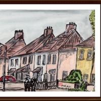 愛蘭土旅行シリーズ その8 ブッシュミルズ村の住宅(その2)