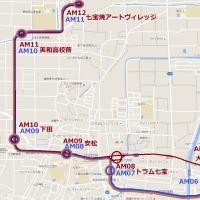 あまトラム七宝本線 地下鉄用地流用案