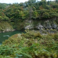 阿賀川から阿賀野川、越後平野へ