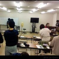 博多駅の近くで講習でした