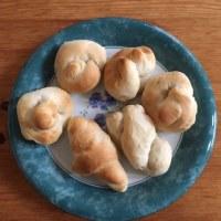 昨日のパンと雪景色…♪