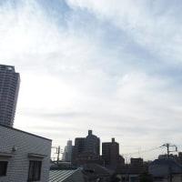 今朝(12月4日)の東京のお天気:曇り?、11月の温度比較