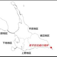 東平安名崎付け根の海岸