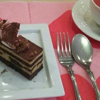 フランス風チョコレートケーキ作りました