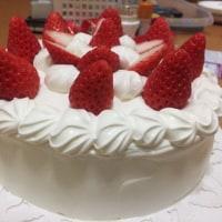年に一度のケーキ登場!