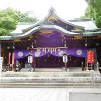 大宮八幡と妙法寺
