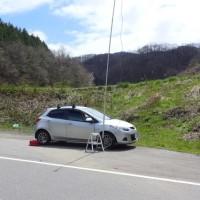 移動運用の結果(2017/04/18 火)