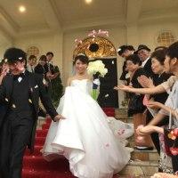 姪っ子の結婚式