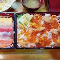 一度は食べてみたい幻のランチ、『海鮮二段どんぶり』を食べてみる!