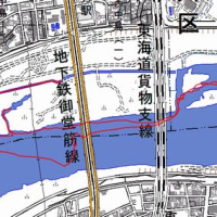 淀川下流域の葦原