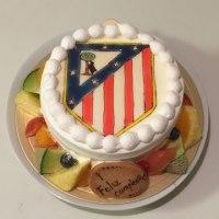 アトレティコ・マドリードのケーキ