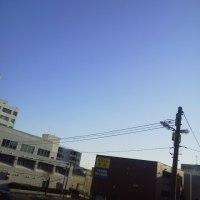 2016/12/3  午前9時札幌の空模様 本日快晴! 爆弾低気圧も駆け抜ける師走ε≡≡ヘ( ´Д`)ノ