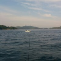 釣り、龍ヶ岳付近