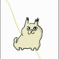 運命の幸せの黄い糸