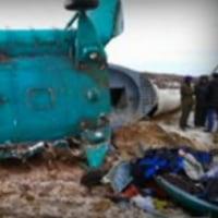 ロシアで油田の作業員を運ぶヘリが墜落し19人が死亡した