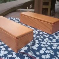 無垢の手づくり箸箱&小物入れボックス(6面ともケヤキ材)