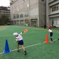 渋谷区の代々木山谷小学校でリングビーの出前授業!