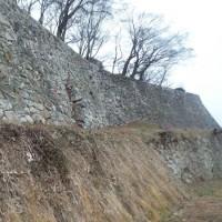 鶴山城跡の石垣