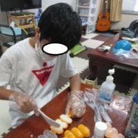22日調理☆おにぎり