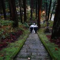 風巻神社の階段