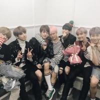 BTS 本日のツイート(2017.2.24)