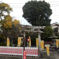 ●田川晩秋そして初冬の風景(3)風治八幡宮と周辺